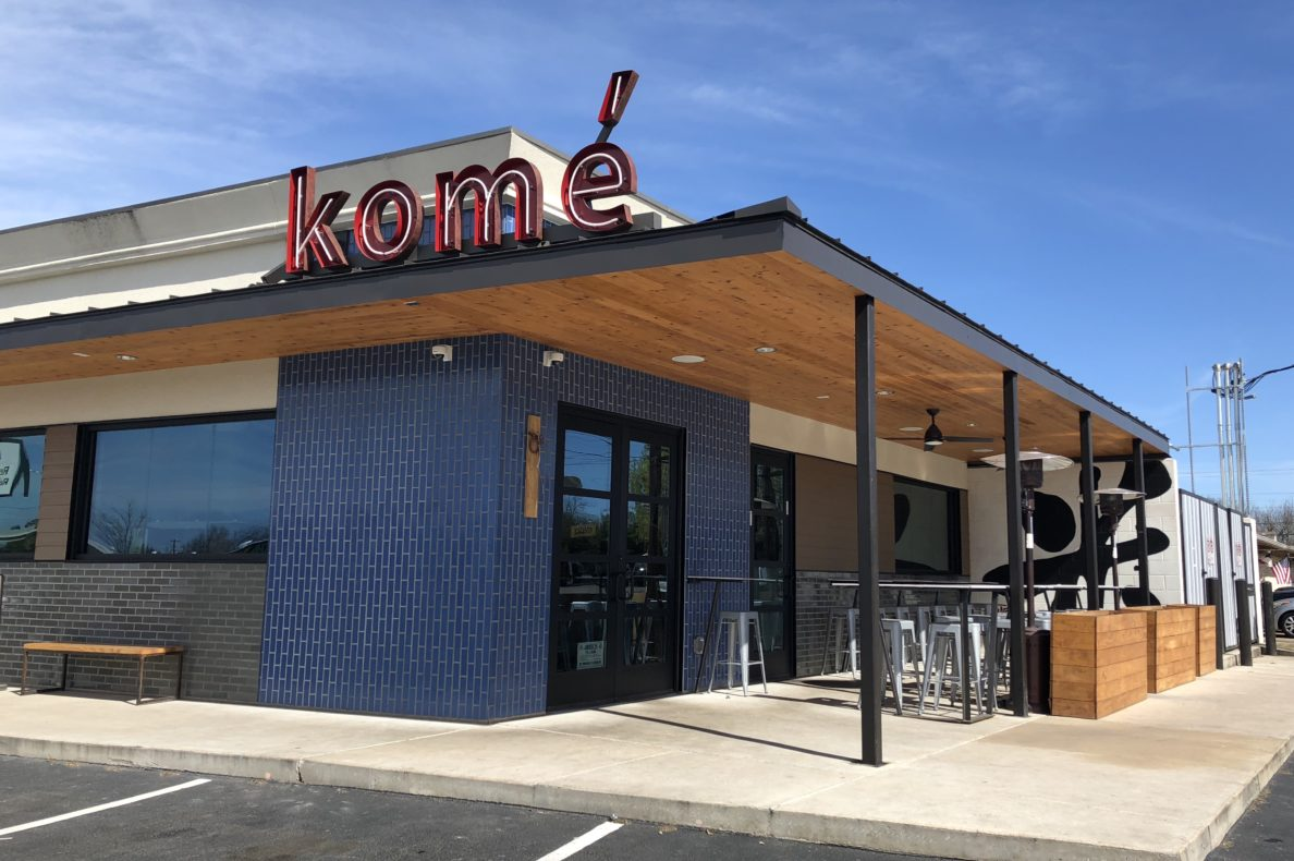 Kome Restaurant Construction